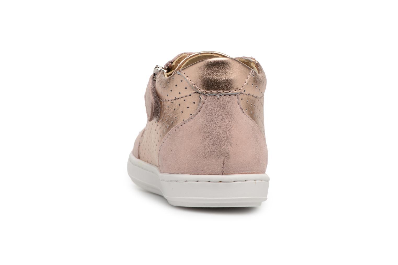 Sneakers Shoo Pom Bouba Zip Box Roze rechts