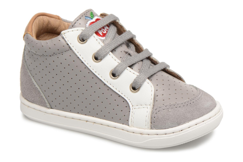 Bouba Zip Box Grey/white