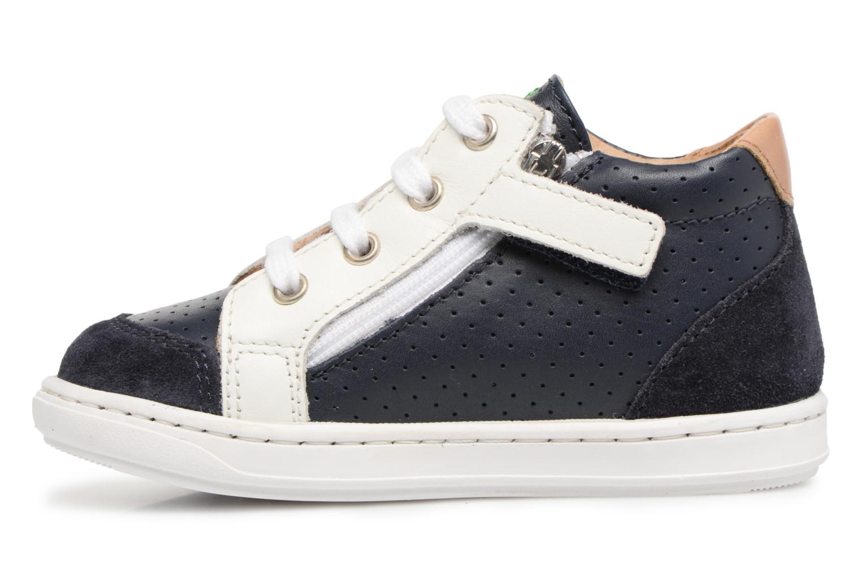 Sneakers Shoo Pom Bouba Zip Box Blauw voorkant