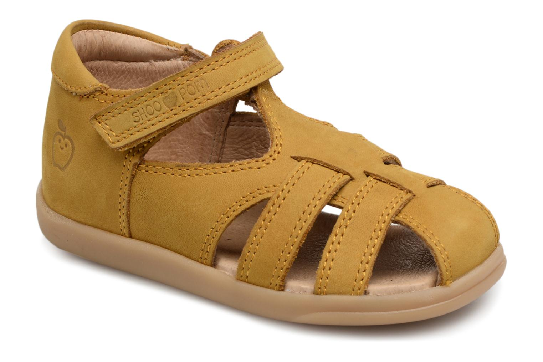 Chaussures Pom Jaune Zou Avec Des Hommes De Fermeture Velcro 10qDIf