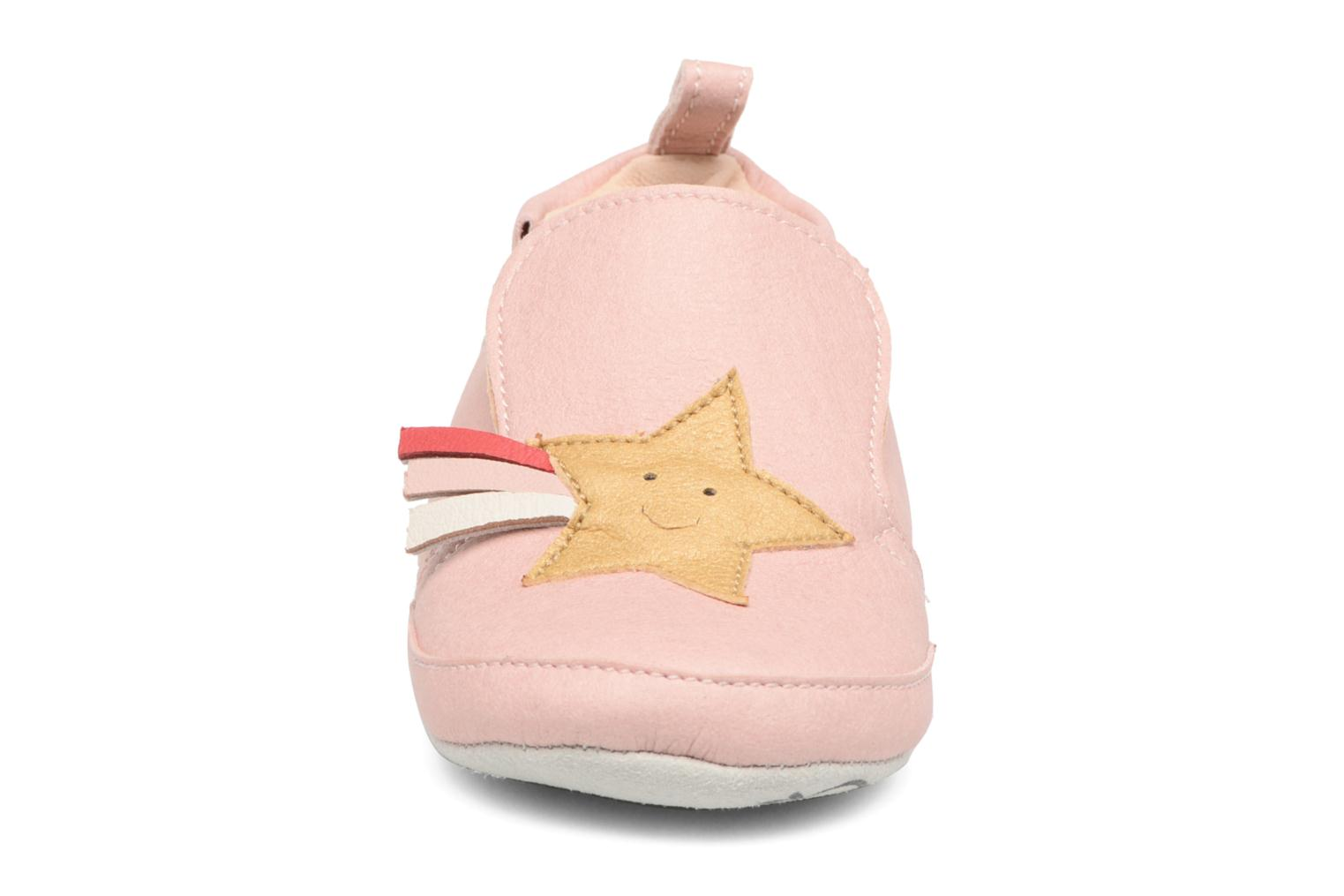 Chaussons Shoo Pom chou Star Rose vue portées chaussures