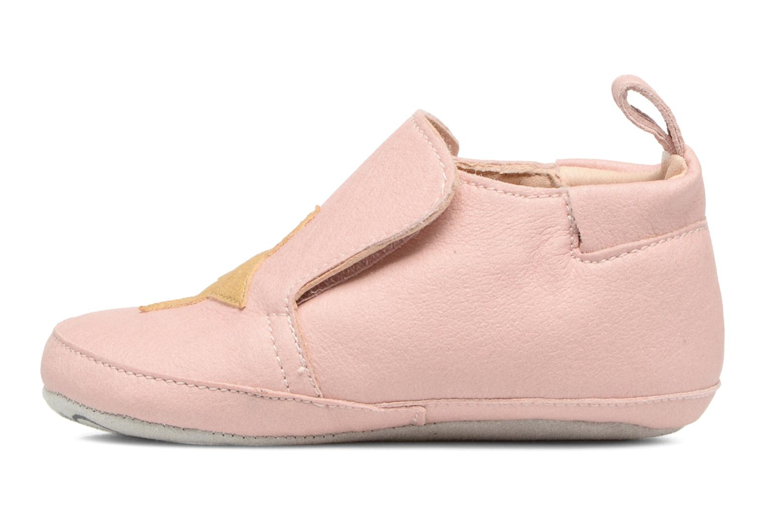 Chaussons Shoo Pom chou Star Rose vue face