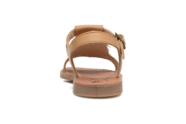 Sandales et nu-pieds Shoo Pom Happy Fringe Marron vue droite