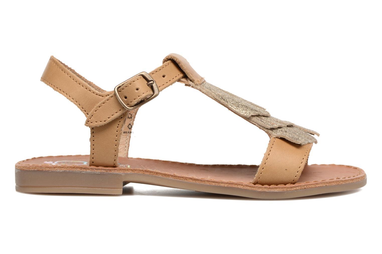 Sandales et nu-pieds Shoo Pom Happy Fringe Marron vue derrière