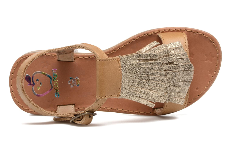 Sandales et nu-pieds Shoo Pom Happy Fringe Marron vue gauche