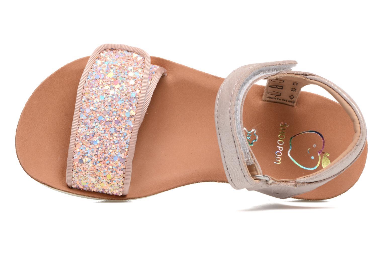 Sandales et nu-pieds Shoo Pom Goa Scratch Piping Rose vue gauche