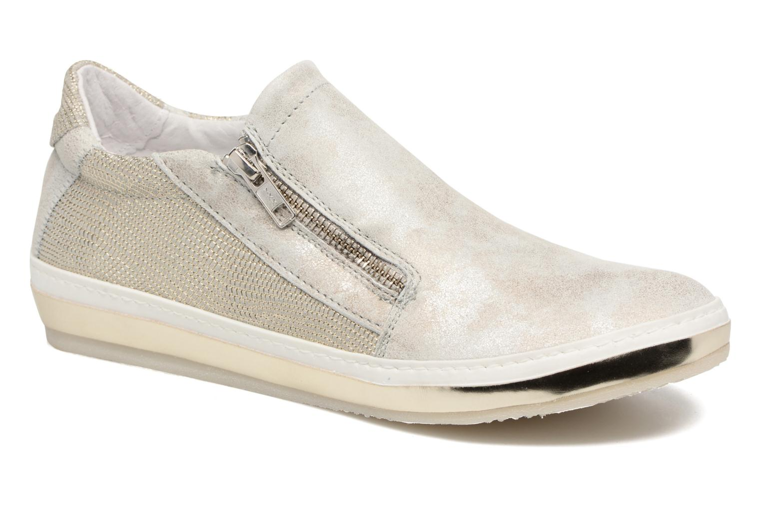 Slip-on Passion Platino + Maryland Perla