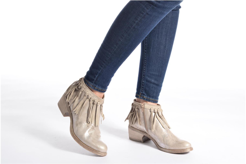 Bottines et boots Khrio Ilaria Argent vue bas / vue portée sac