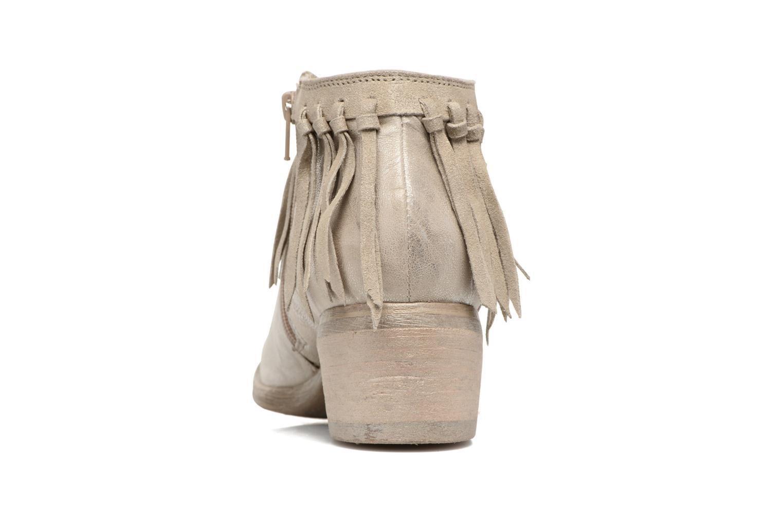 Bottines et boots Khrio Ilaria Argent vue droite
