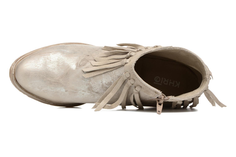 Boots en enkellaarsjes Khrio Ilaria Zilver links