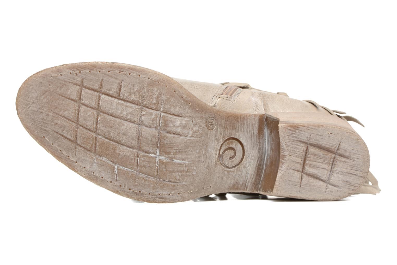 Bottines et boots Khrio Ilaria Argent vue haut