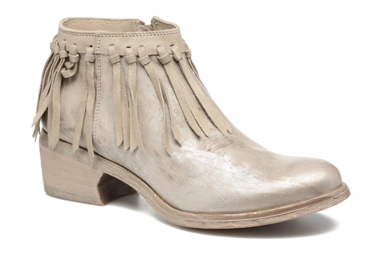 Boots en enkellaarsjes Khrio Ilaria Zilver detail