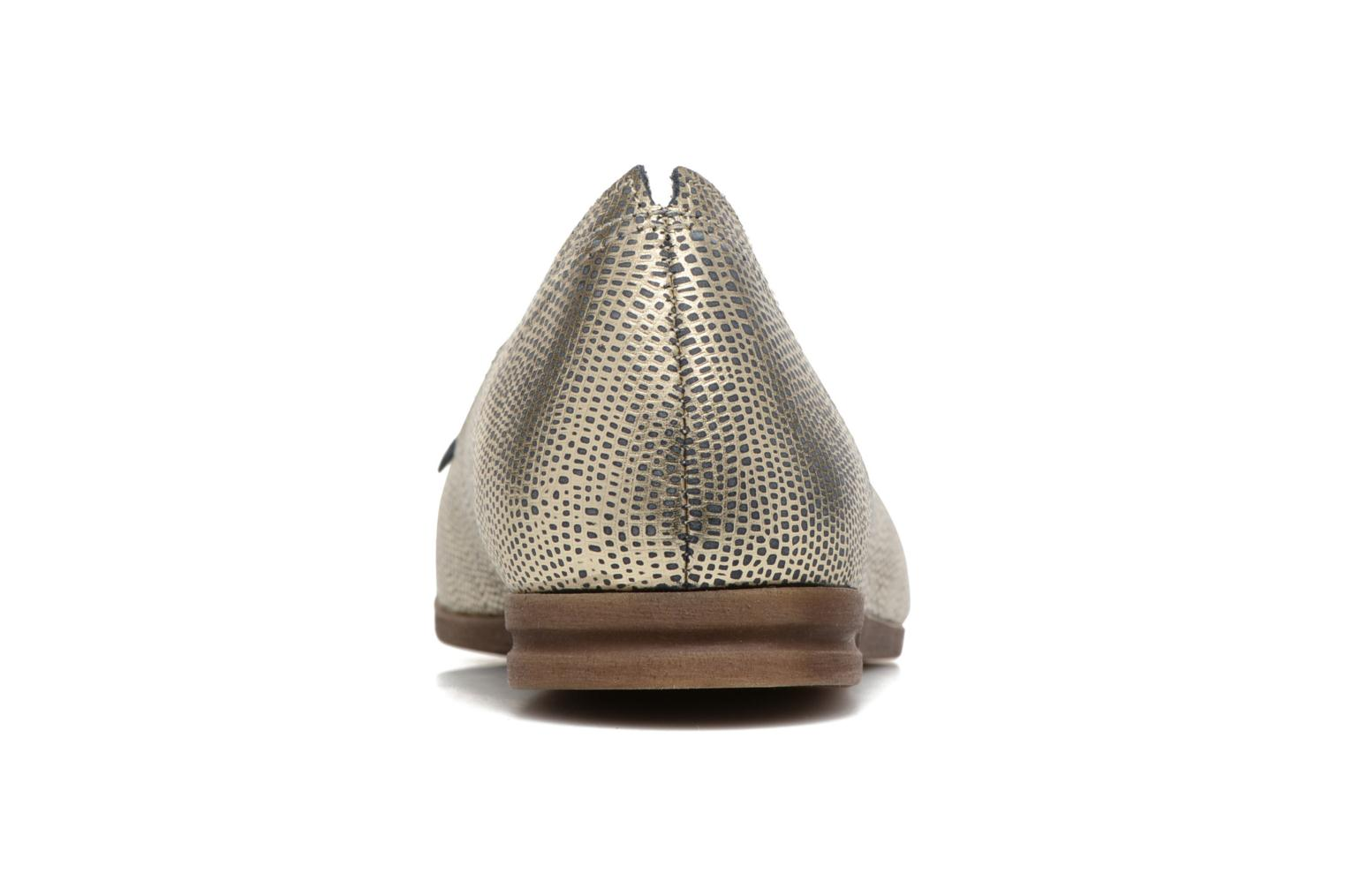 Loafers Khrio Adua Silver view from the right