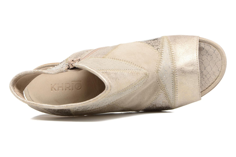 Sandales et nu-pieds Khrio Aurea Beige vue gauche