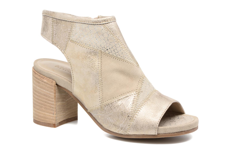 Sandales et nu-pieds Khrio Aurea Beige vue détail/paire
