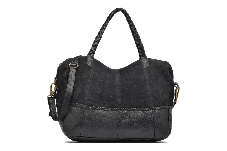 Sacs à main Pieces Cameo Leather bag Noir vue détail/paire