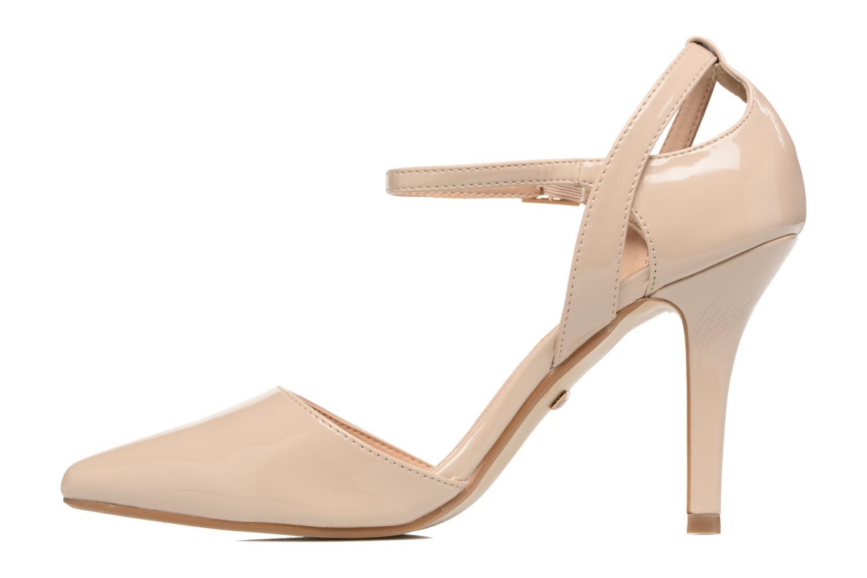 High heels Buffalo Maëva Beige front view