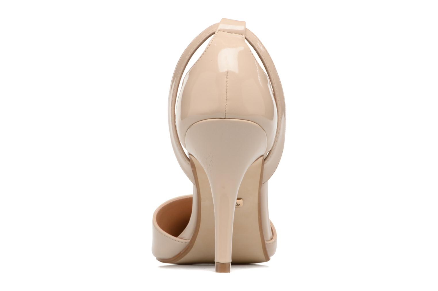 High heels Buffalo Maëva Beige view from the right