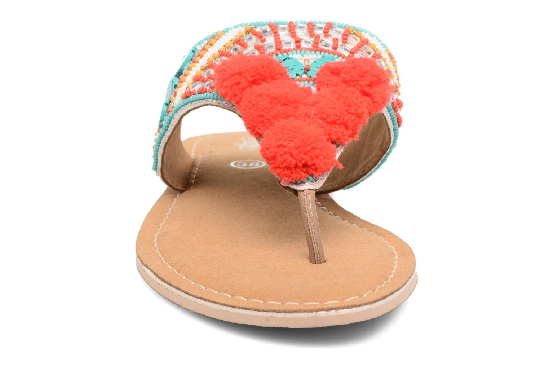 Sandalen Buffalo Josy mehrfarbig schuhe getragen