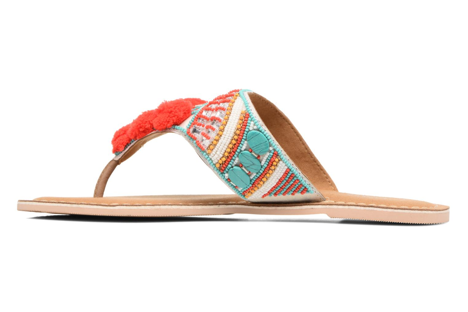 Sandals Buffalo Josy Multicolor front view