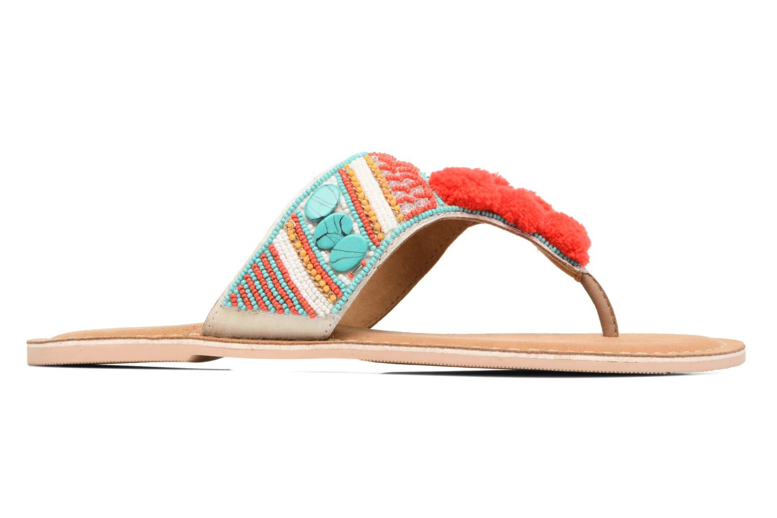 Sandals Buffalo Josy Multicolor back view