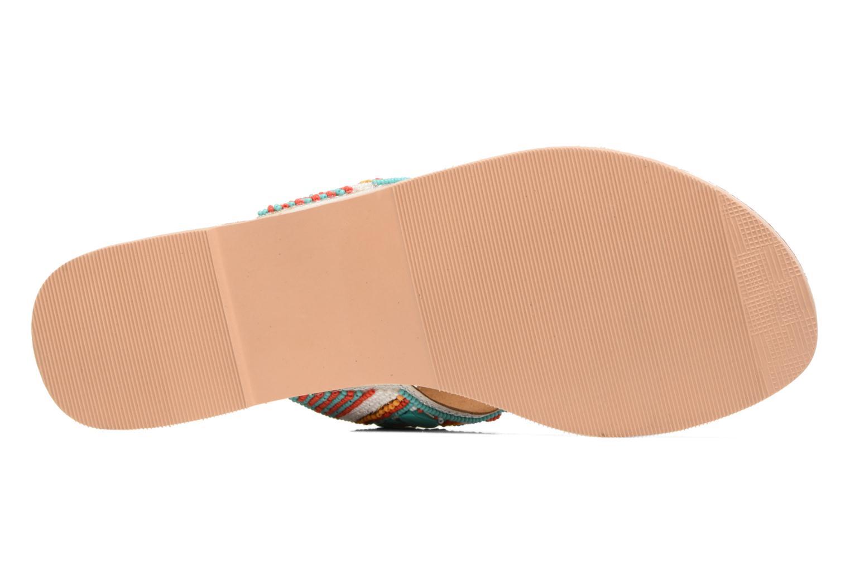Sandalen Buffalo Josy mehrfarbig ansicht von oben
