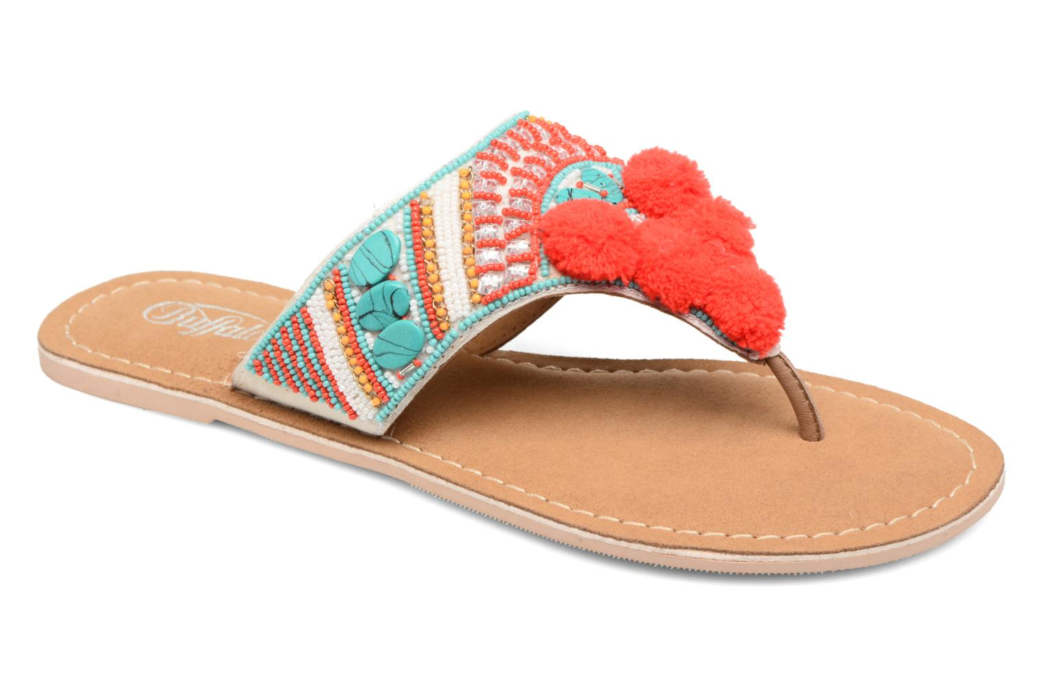 Sandals Buffalo Josy Multicolor detailed view/ Pair view