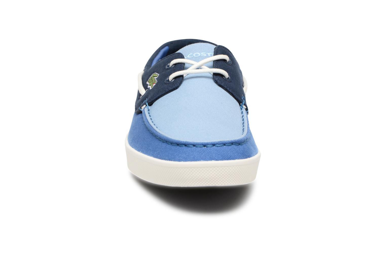 Chaussures à lacets Lacoste Keellson 217 1 Bleu vue portées chaussures