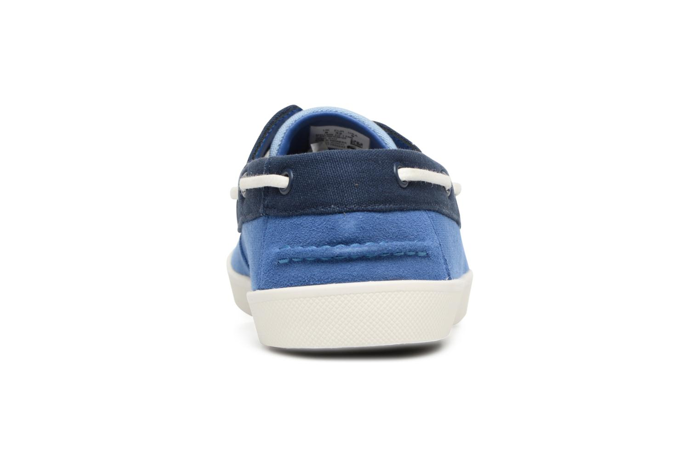 Chaussures à lacets Lacoste Keellson 217 1 Bleu vue droite