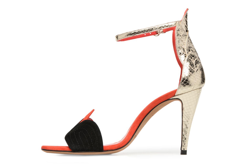 Sandals Pura Lopez Olska Multicolor front view