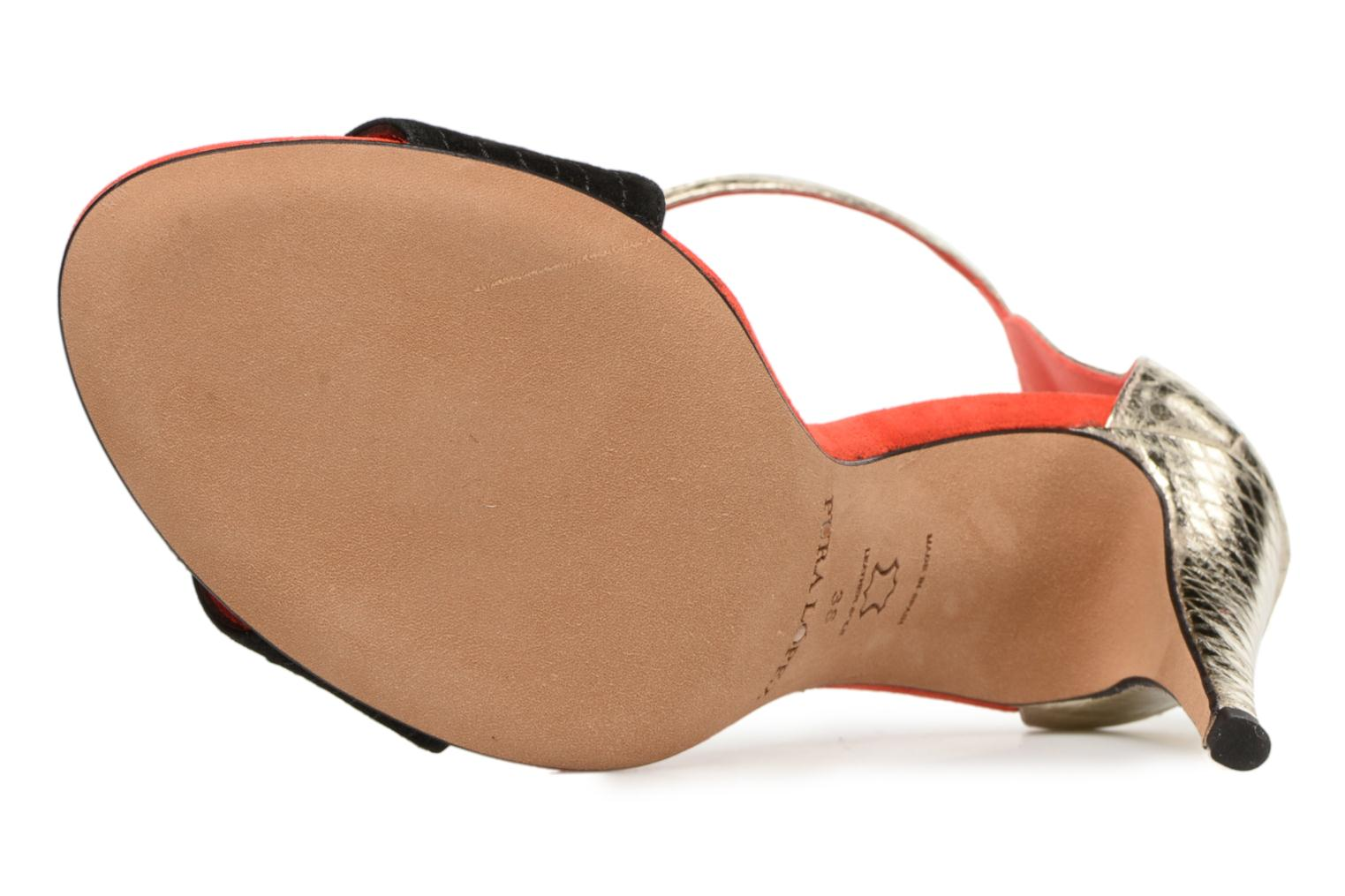 Sandals Pura Lopez Olska Multicolor view from above