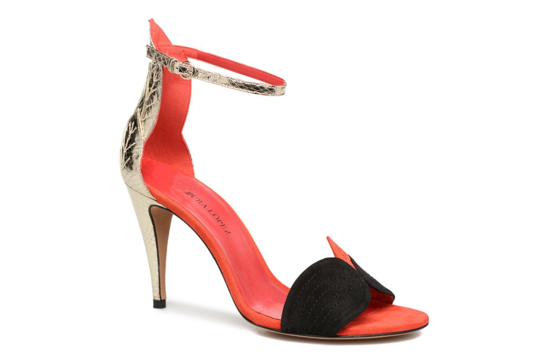 Sandals Pura Lopez Olska Multicolor detailed view/ Pair view