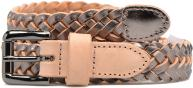 Lille Braided Leather Jeans Belt