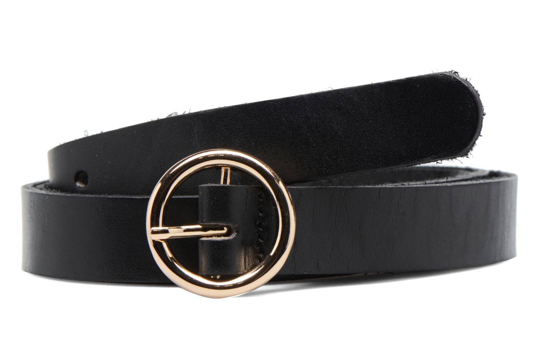 Lisbeth Leather Jeans Belt Black