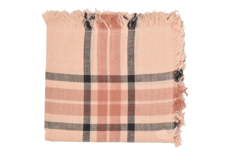 Larina Square scarf Cameo Rose