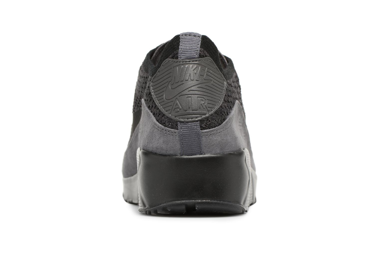 Sneaker Nike Air Max 90 Ultra 2.0 Flyknit grau ansicht von rechts