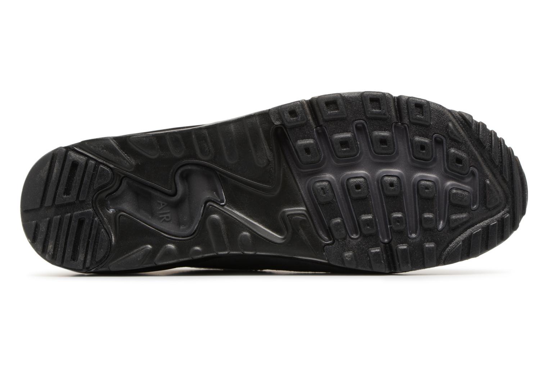 Sneaker Nike Air Max 90 Ultra 2.0 Flyknit grau ansicht von oben