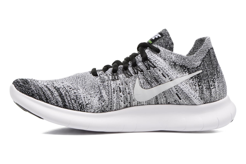 Sportschuhe Nike Wmns Nike free Rn Flyknit 2017 schwarz ansicht von vorne