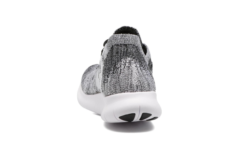 Sportschuhe Nike Wmns Nike free Rn Flyknit 2017 schwarz ansicht von rechts