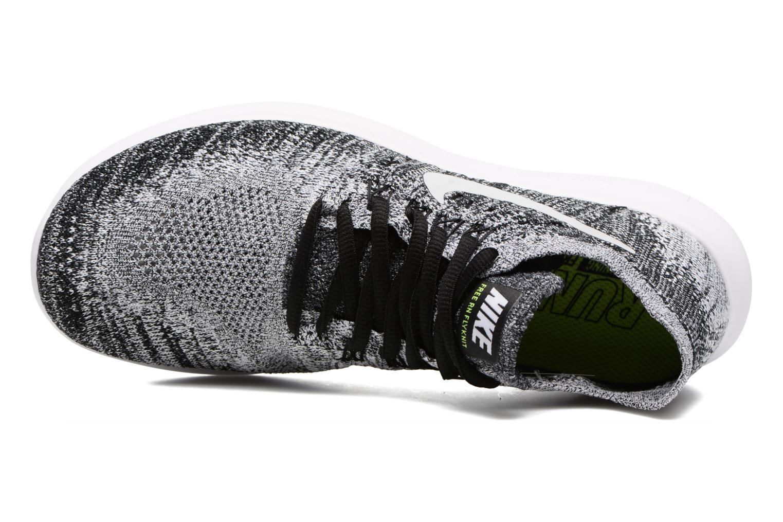 Wmns Nike free Rn Flyknit 2017 Black White Volt