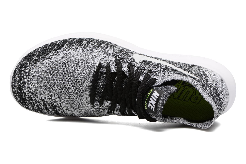 Zapatillas de deporte Nike Wmns Nike free Rn Flyknit 2017 Negro vista lateral izquierda