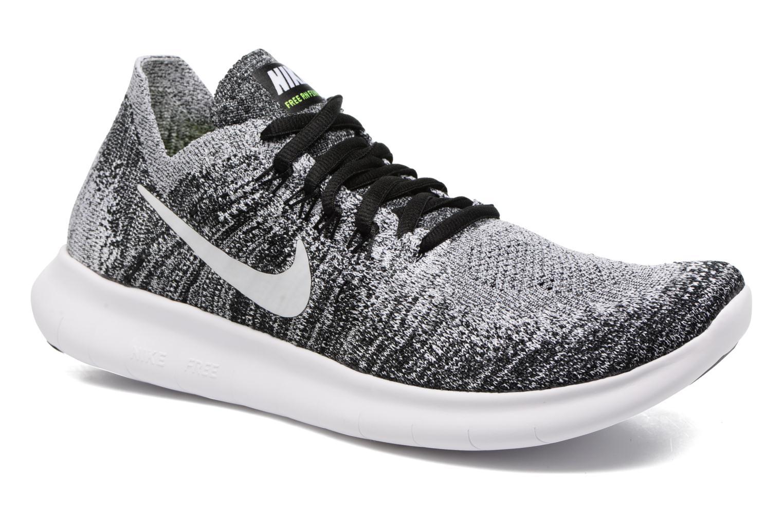 Sportschuhe Nike Wmns Nike free Rn Flyknit 2017 schwarz detaillierte ansicht/modell