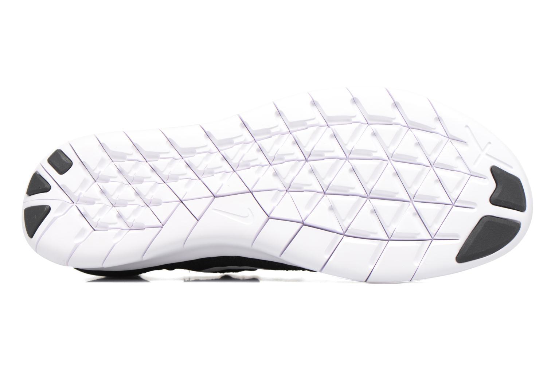 Chaussures de sport Nike Wmns Nike free Rn Flyknit 2017 Noir vue haut