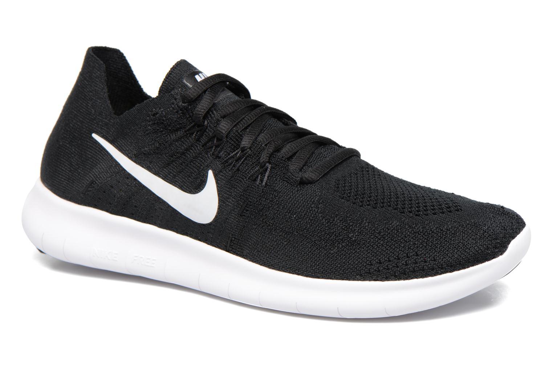 Chaussures de sport Nike Wmns Nike free Rn Flyknit 2017 Noir vue détail/paire