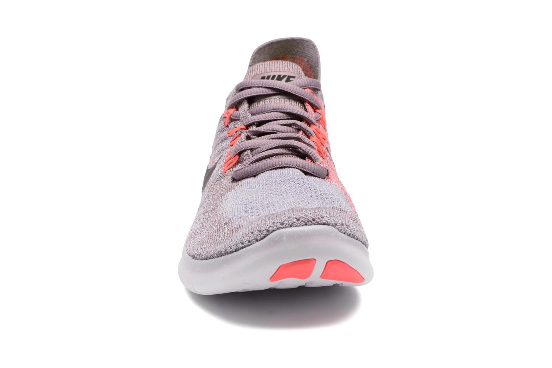 Sport shoes Nike Wmns Nike free Rn Flyknit 2017 Purple model view