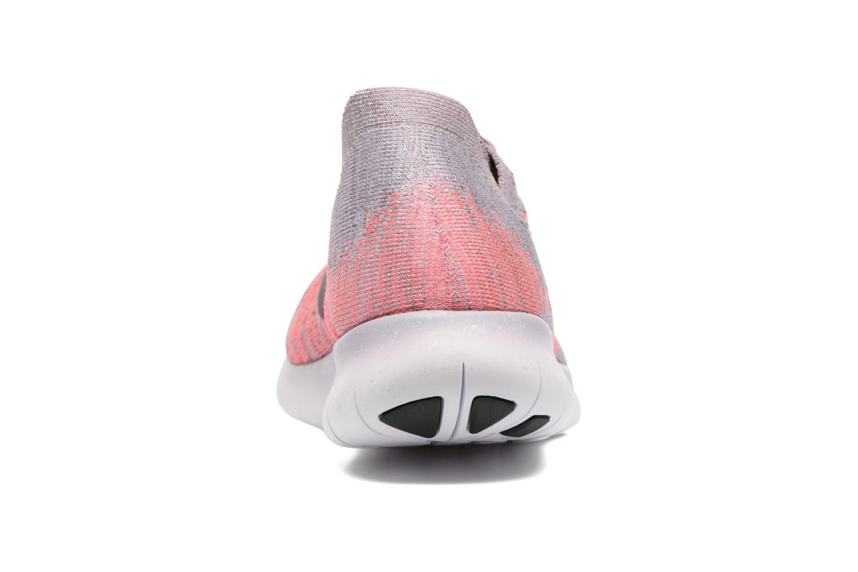 Sportschuhe Nike Wmns Nike free Rn Flyknit 2017 lila ansicht von rechts