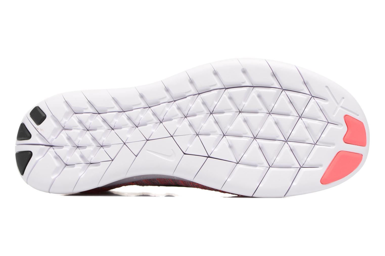 Sportschuhe Nike Wmns Nike free Rn Flyknit 2017 lila ansicht von oben