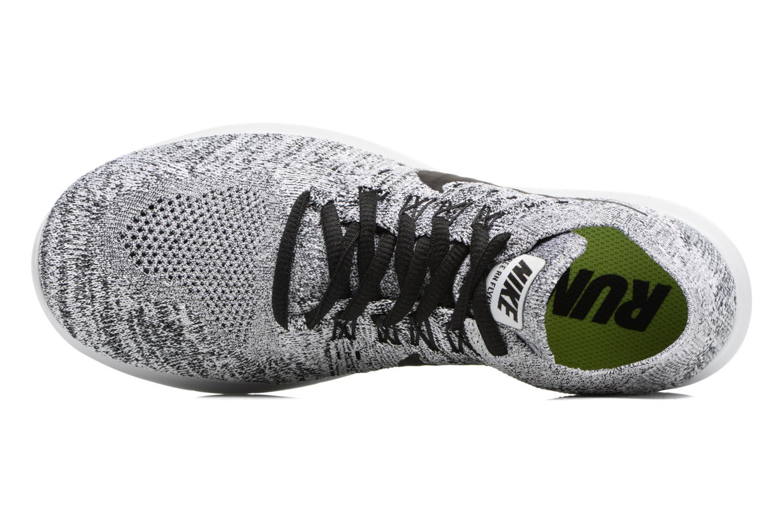 Chaussures de sport Nike Wmns Nike free Rn Flyknit 2017 Gris vue gauche