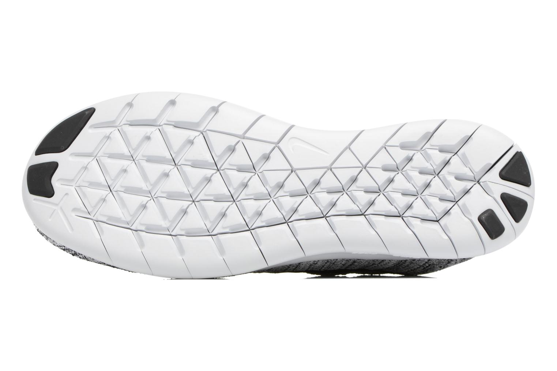 Chaussures de sport Nike Wmns Nike free Rn Flyknit 2017 Gris vue haut