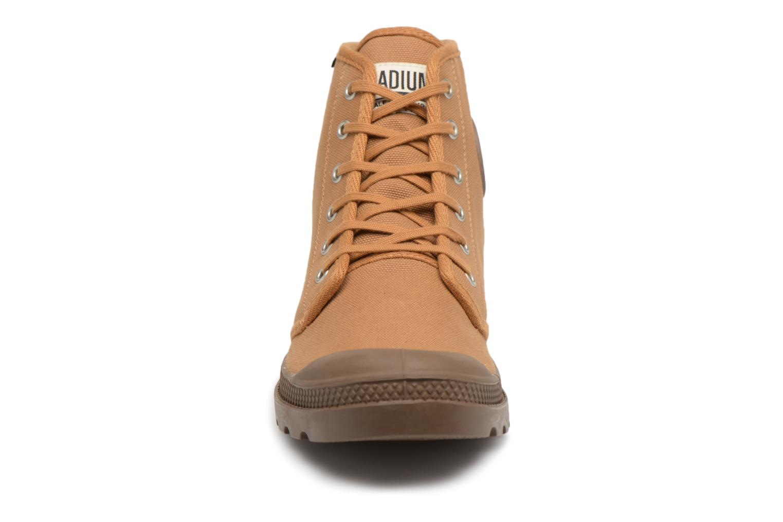 Sneaker Palladium Pampa Hi Orig U braun schuhe getragen